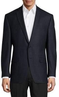 Calvin Klein Mini Check Wool Sportcoat