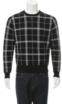 Todd Snyder Windowpane Pullover Sweater