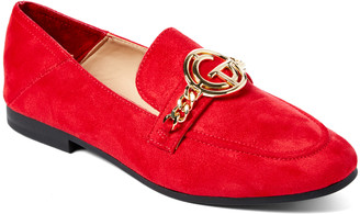 Tahari Girl Women's Loafers RED - Red Zeva Loafer - Women