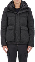 Moncler Women's Valmorel Wool-Blend Down Parka-DARK GREY