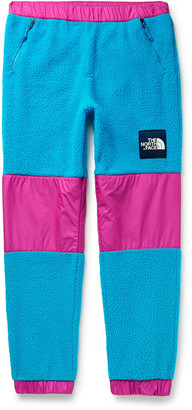 The North Face '95 Retro Denali Tapered Colour-Block Shell And Fleece Sweatpants