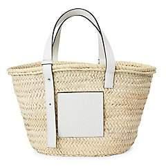 Loewe Women's Leather-Trimmed Basket Bag