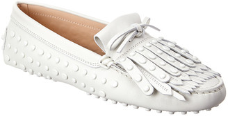Tod's TodS Gommini Studded Leather Loafer