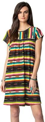Double D Ranchwear Bakersfield Serape Dress (Multi) Women's Clothing