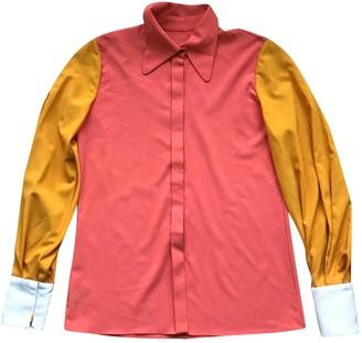 Roksanda Ilincic Orange Silk Top for Women