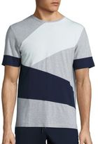 Madison Supply Geometric Colorblock Tee