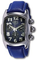 Invicta Men's Lupah 9815 Leather Chronograph Watch with Dial
