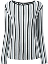 Diesel striped knit jumper - women - Polyester/Viscose - XS