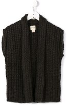 Bellerose Kids - knitted sleeveless top - kids - Polyamide/Mohair/Wool/Polyacrylic - 4 yrs