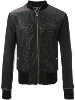 Versus printed bomber jacket - men - Cotton/Polyester/Spandex/Elastane/Viscose - 48