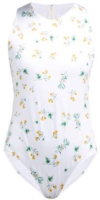 Racil Fonda Floral-print Bodysuit - Womens - White Multi