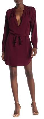 On The Road Vineyard Waist Tie Dress