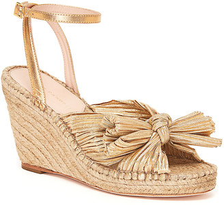 Loeffler Randall Charley Bow Wedge Sandals
