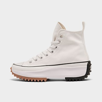 Converse Women's Run Star Hike Leather Platform High Top Sneaker Boots