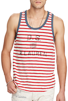 Denim & Supply Ralph Lauren Striped Vest Top, Summer Stripe