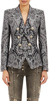 Balmain Women's Double-Breasted Antoinette Blazer-BLACK