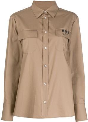MSGM Flap Pocket Shirt