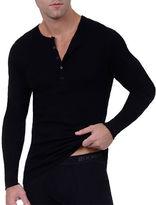 2xist Essential Cotton Henley Shirt