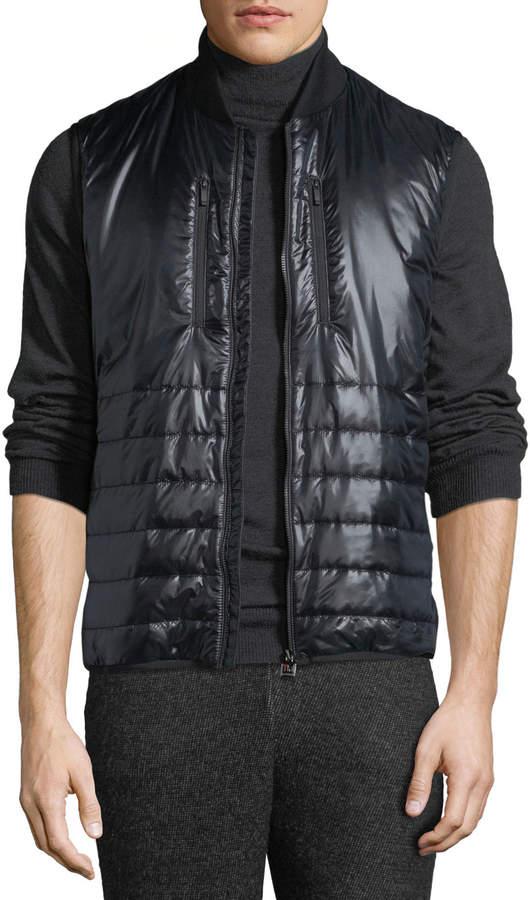 57131914 Men's Quilted Zip-Front Vest