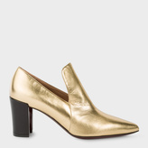 Paul Smith Women's Gold Leather 'Belvoir' Shoes