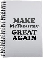 Fotomax Notebook with MAKE Melbourne GREAT AGAIN