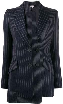 Alexander McQueen asymmetric double-breasted blazer