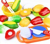 Baby Educational Toys, HaiHui Kid 12PC Cutting Fruit Vegetable Pretend Play