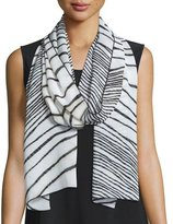 Caroline Rose Summer Safari Print Scarf