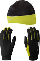 Nike Running Thermal Beanie and Gloves Set