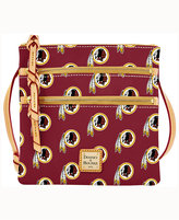 Dooney & Bourke Washington Redskins Triple-Zip Crossbody Bag