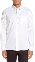 Ted Baker 'The Monk' Trim Fit Diamond Pattern Dress Shirt
