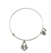Alex and Ani Key To Heart Bracelet