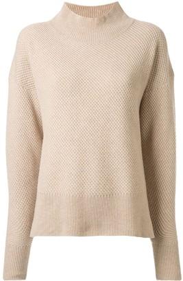 Rebecca Vallance Toddy mock-neck jumper