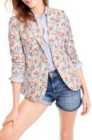 J.Crew Women's Campbell Liberty Floral Blazer