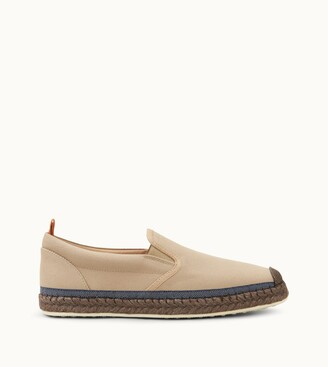 Tod's Slip-ons in Canvas
