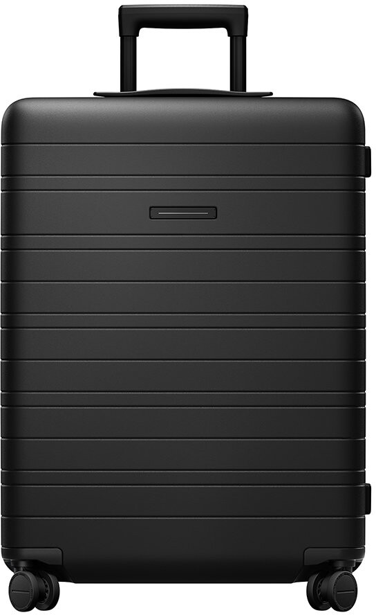 Horizn Studios Smart Hard Shell Suitcase - All Black - Medium
