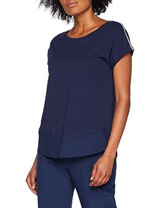 Esprit Women's Tshirt Mesh Sl Sport Top,8 (Size: X-Small)