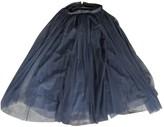 Needle & Thread Blue Skirt for Women