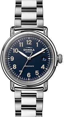 Shinola The Runwell Link Bracelet Automatic Watch, 39.5mm