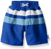 I Play I-Play Boys' Colorblock Trunks with Built-In Reusable Absorbent Swim Diaper