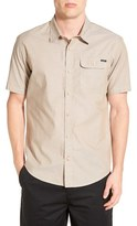 O'Neill Men's 'Emporium' Tailored Fit Short Sleeve Woven Shirt