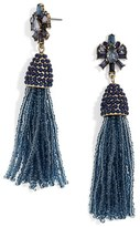 BaubleBar Women's Clementine Tassel Drop Earrings