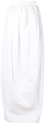 CHRISTOPHER ESBER Ruched Cocoon tie skirt