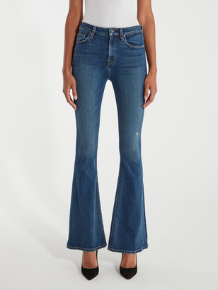 Hudson Holly High Rise Five Pocket Flare Jeans
