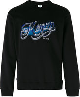 Kenzo embroidered logo sweatshirt - men - Cotton - XL