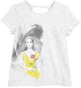Disney Disney's® Beauty and the Beast Swoop-Back Graphic T-Shirt, Big Girls (7-16)