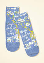 ModCloth Compliment the World to Me Socks
