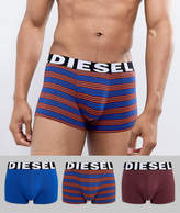 Diesel 3 Pack Stripe Trunks