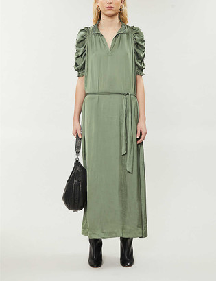 Zadig & Voltaire Ray crepe maxi dress