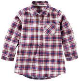 Osh Kosh TLC Plaid Flannel Tunic